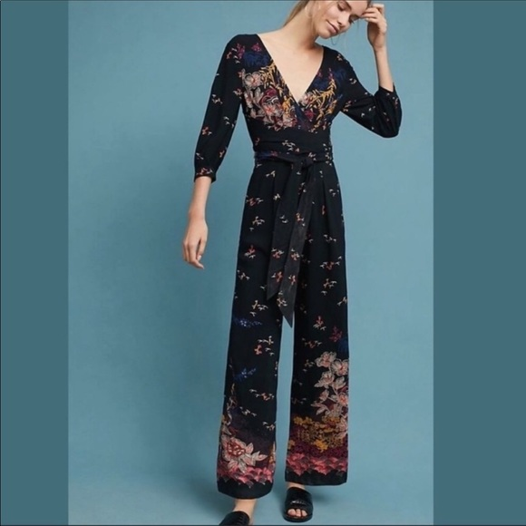 Anthropologie Other - Anthropologie Feather and Bone Nara Jumpsuit